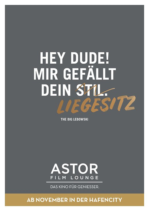 Astor Filmloung Hafencity HH, Launchkampagne (Layout)