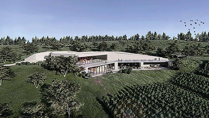 "Entwurfsprojekt ""Cantina Eucaliptus. Weingut in der Toskana."""