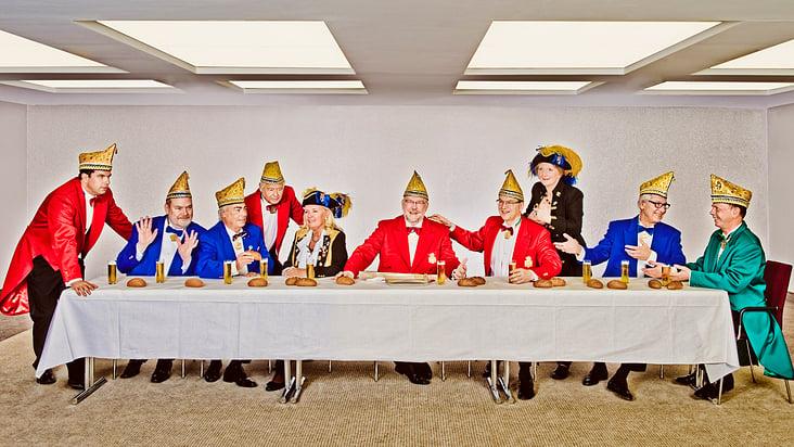 Vorstandsfoto Karnevalsgesellschaft