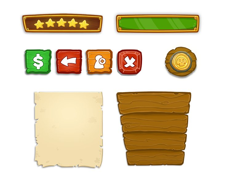 Asset Designs für Pirate Coinland