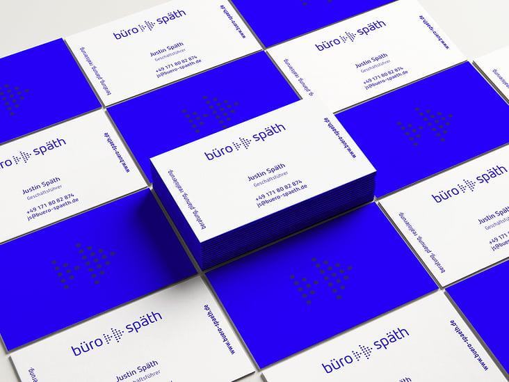 Visitenkarte Design für Büro Späth