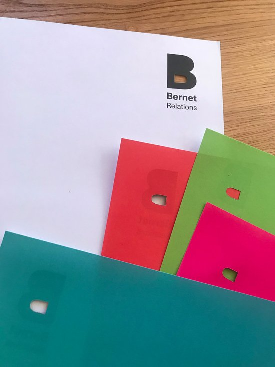 Bernet Relations AG, Briefpapierserie