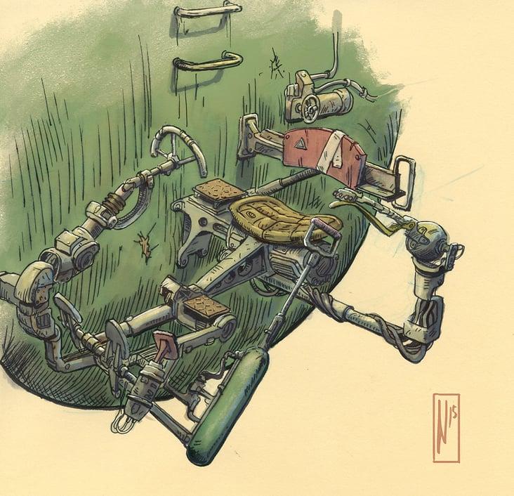 Monju Hunters of Sōfugan Island– Cockpit Concept
