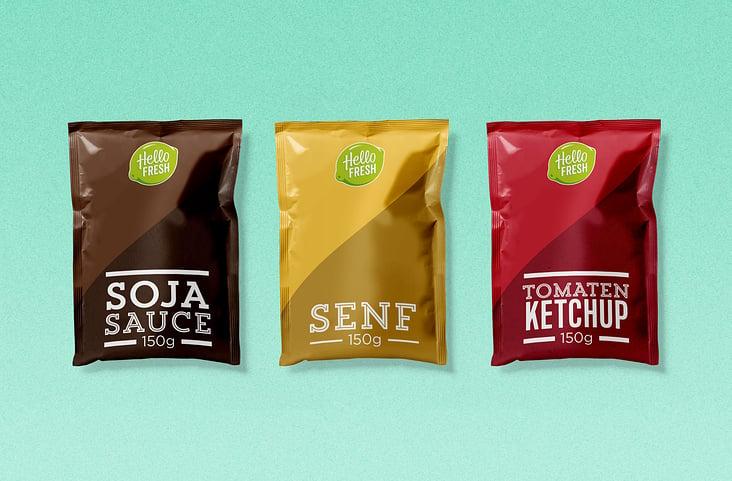 HelloFresh Packaging– Sauces