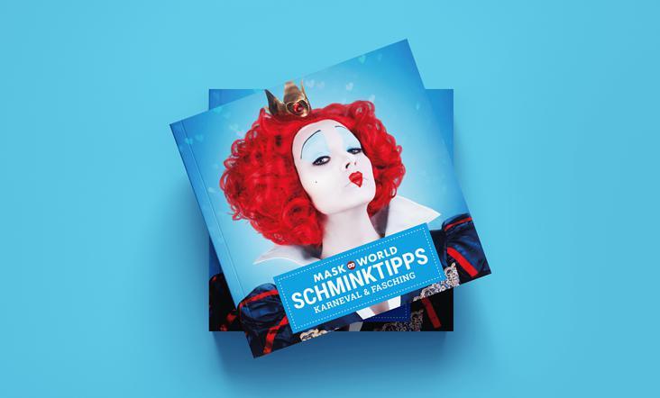 Maskworld Schminkbuch Layout