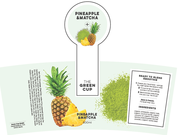 Green Cup – Packaging