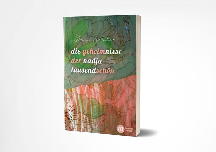 Buchumschlag / Freier Entwurf zu fiktivem Roman (eigenes Foto)