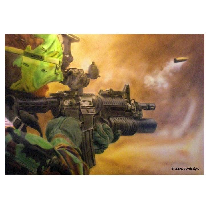 Airbrush– Soldat