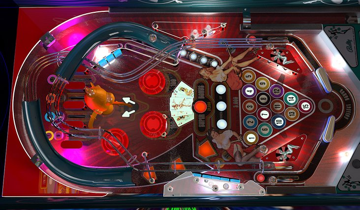 Pinball Machine Cinema 4D