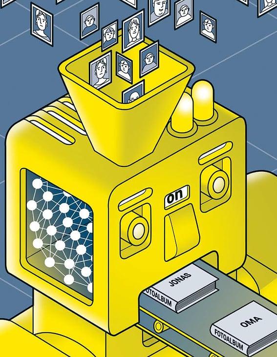 """Leitartikel-Illustration zum Thema """"Künstliche Intelligenz"""""""