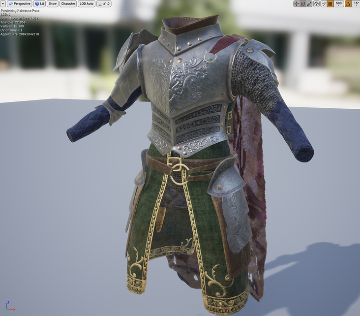 Full Rigged Armor Set 2018