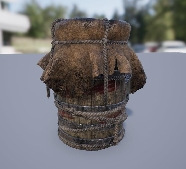 Explosive Barrel 2018