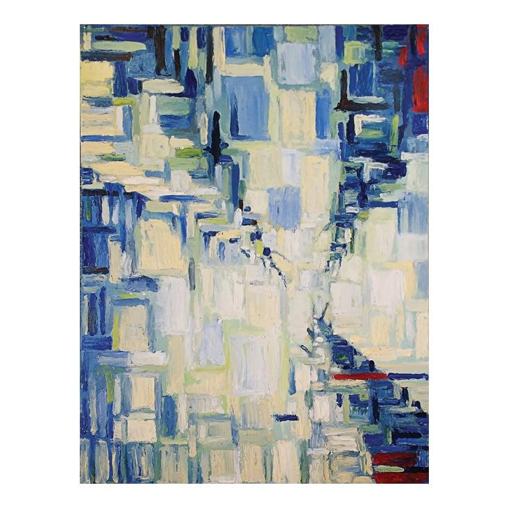 """""""Trees"""", Öl auf Leinwand, 60×80cm, 2019"""