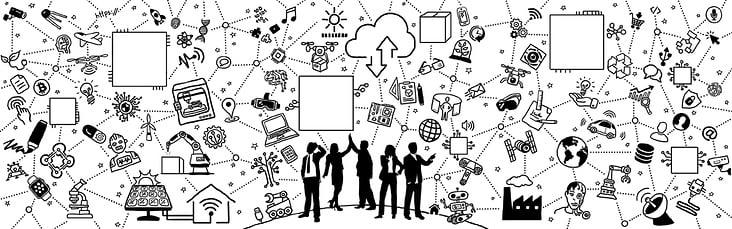Wandgestaltung für den Innovationroom der PwC