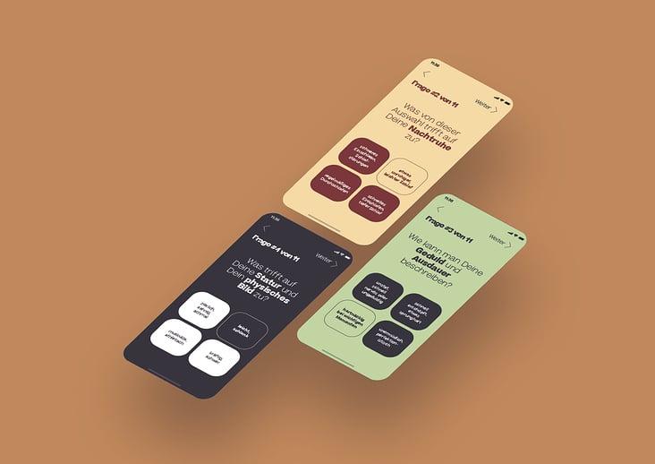"""App-Konzeption und Design der Bachelorthesis """"Der Tee als das personalisierte Ritual"""""""