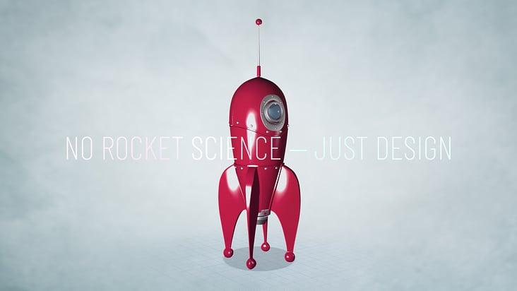 No Rocket Science Poster