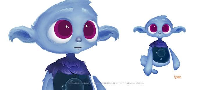 "Character-Highlight ""Biz"", Children of Lumera"