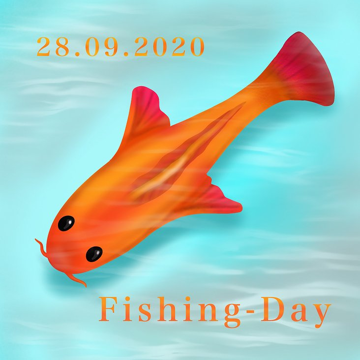 Illustration Fishing Day – Prototype