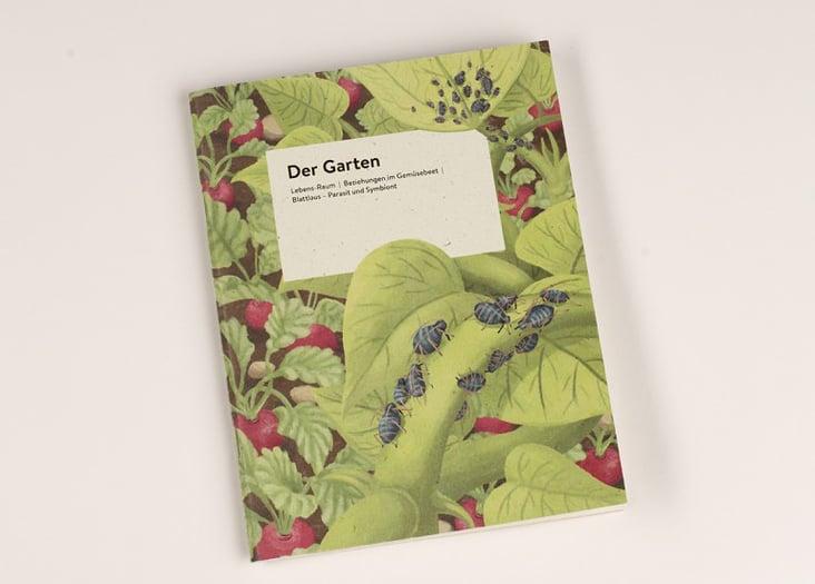 "Begleitheft ""Der Garten""– Cover"