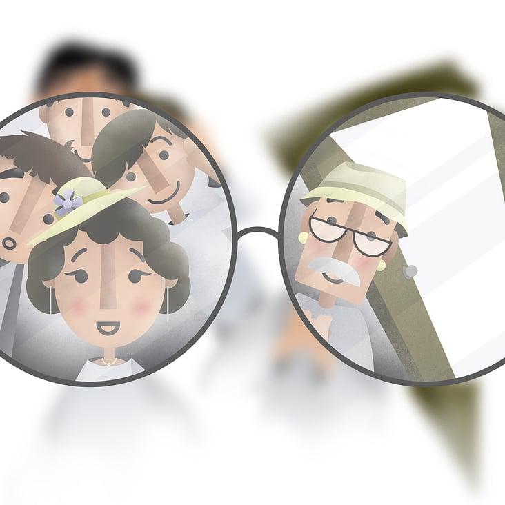 Kobi bekommt seine Brille