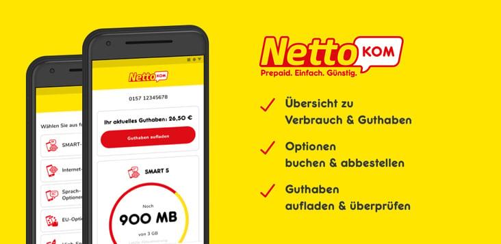 NettoKOM Prepaid App