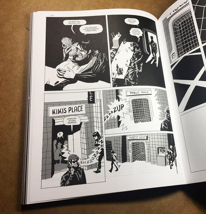 Comic für das TWELVE Magazin, Thema: New Work – Innenseite