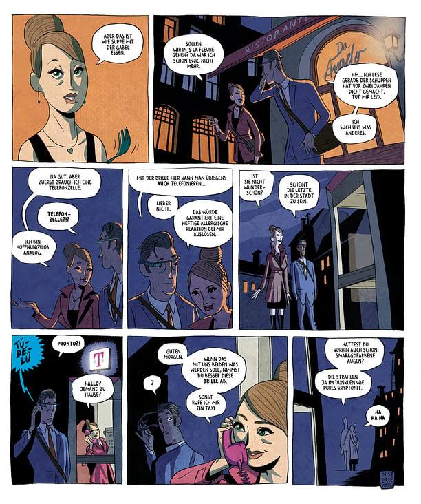 Comic für das TELEKOM Magazin 360 Grad