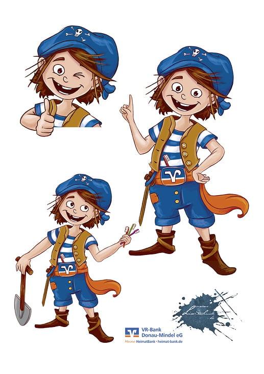 Characterdesign Paul