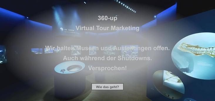 Vorstellung 360-Grad Medien Museum Ausstellung Galerie 360-up