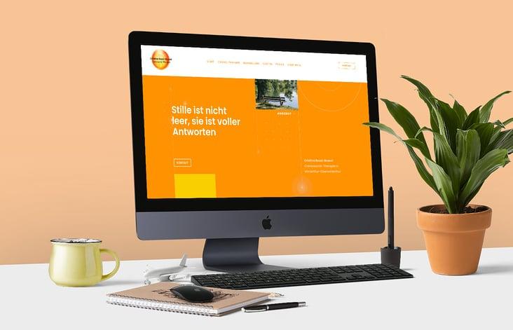 Webseite für Cristina Bozzi-Brunel