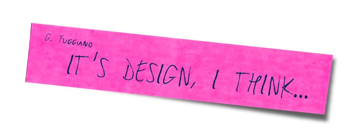 "Projekt ""It's Design, I think…"""