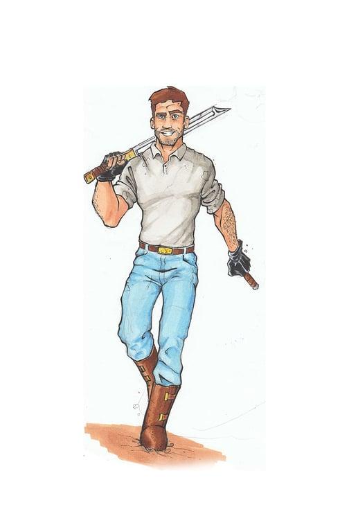 Comicprojekt, Character Design