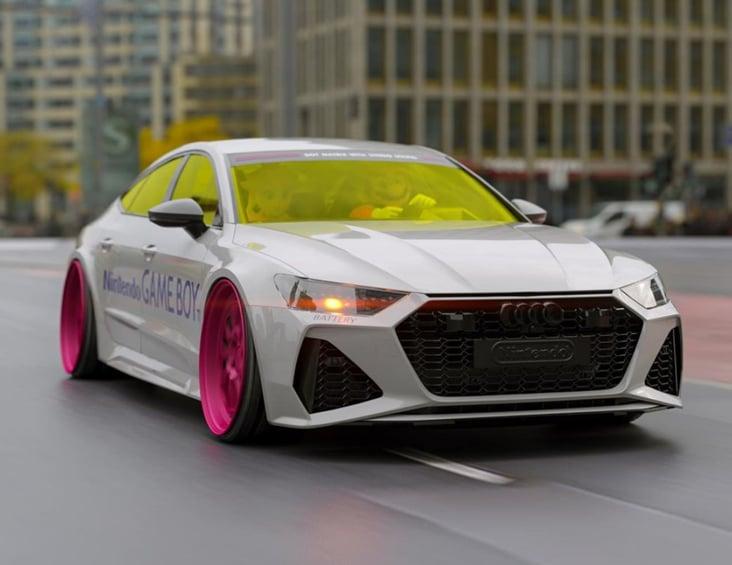 Car Auto Rendering 3D KeyVisual