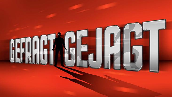 Gefragt Gejagt Logo