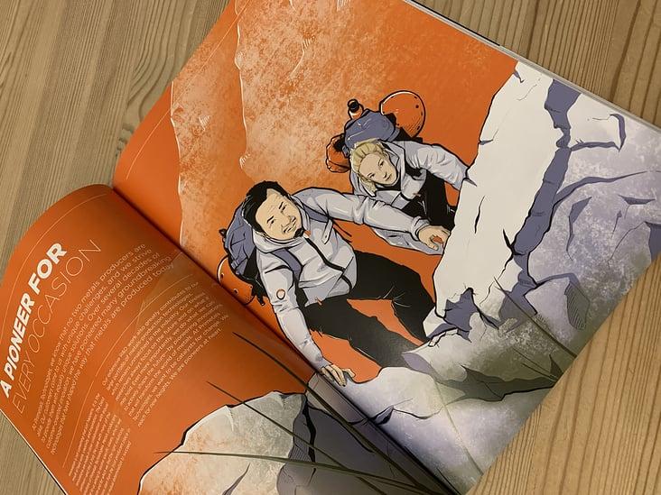 Illustration für Metals Magazine