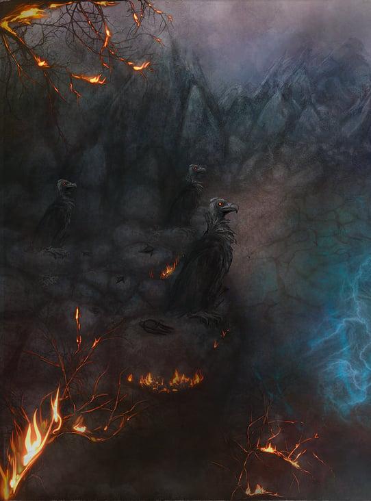 Artprojekt (MTG карты-панорама) for NFTland.pro https://nftland.pro/collections/fendor/col-002  Collection: Battle of Malenfort