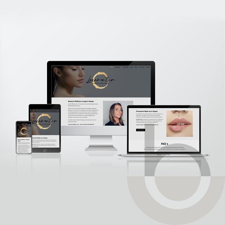 Beauty & Wellness Website