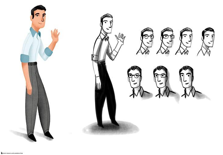 Character Development Rough