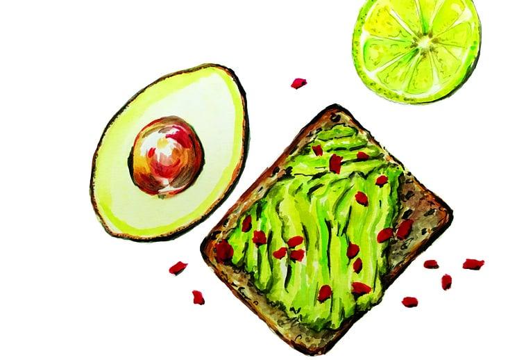 Aquarell // Food Illustration