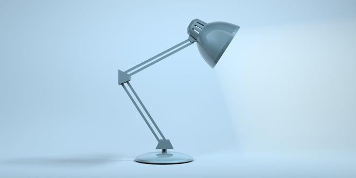 Schreibtischlampe Nr. 2