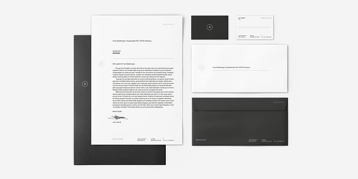 Abstraktus– Corporate Design, Stationery