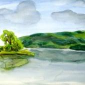 """""""Aquarelle"""" von Grafikdesign Annedore Schmidt"""