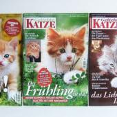 """""""Editorial Design: Magazin """"Geliebte Katze"""""""" von Nathalie Bräutigam"""