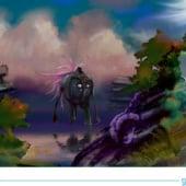 """Sci Fi Moods & Scribble"" von Gobbledesign 2D GAme Artist"