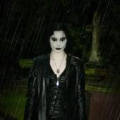 """The Crow -female-/Gothic"" von Daniela Amerle"