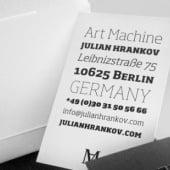 """""""Art Machine Business Cards"""" von Julian Hrankov"""