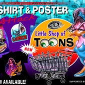 """""""little shop of toons"""" von Andreas Gillmeister"""
