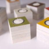 """Sparflamme – Recyclingdesign"" von Sven Stornebel Designstudio"