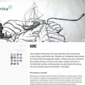 """""""Text und Design Feedback: mimika.de"""" from Microle Systems"""