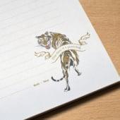 """Kakoii GmbH – Tiger Illustration"" von Sandrine Amendola"